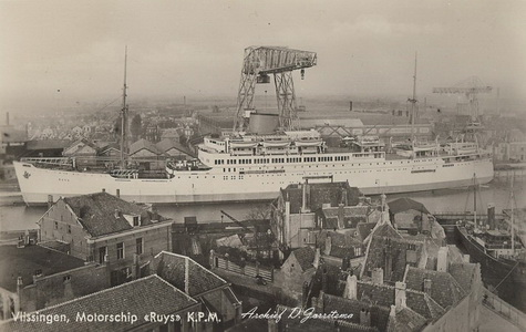 Vloot/BRT/Ruys - Vlissingen - 1938